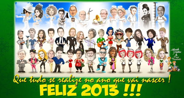 RETROSPECTIVA CARICATURAS 2012-B