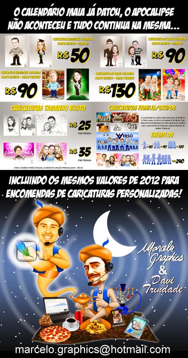 PROMO CARICATURAS 2013