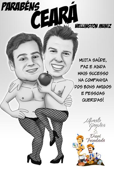CARICATIURA-ANIVERSÁRIO CEARPA DO PÂNICO-REDUX