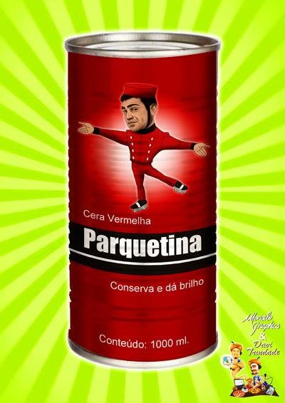 CARICATURA - EVANDRO SANTO - CERA PARQUETINA-REDUX